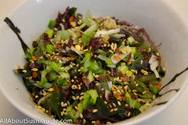 Seaweed Salad with Miso/Sesame Dressing