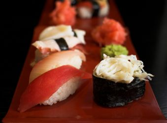 Different kinds of Nigiri