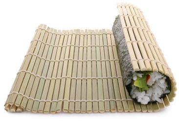 Sushi mat (makisu)