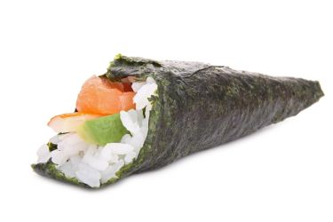 The Temaki roll is form of Maki roll that is made in a shape similar ...