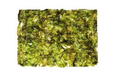 Light green low quality nori