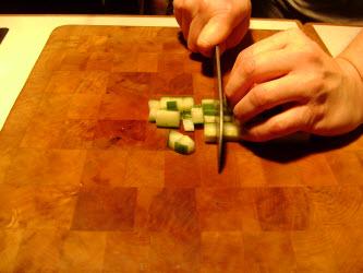 Mincing from matchsticks