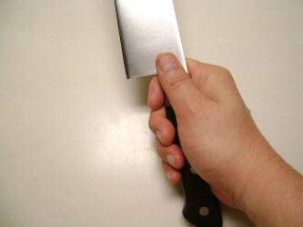 How to hold a Deba or Usuba knife