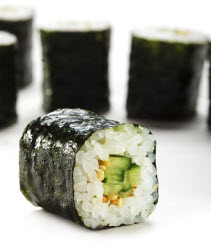 Kappamaki or Cucumber Maki roll