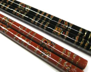 Decorative Chopsticks with laquered surface