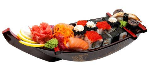 Plastic Sushi Boat