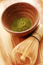 Match - powdered tea