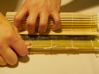 And tighten also on the right hand side