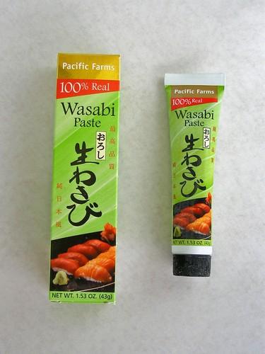 Real wasabi paste