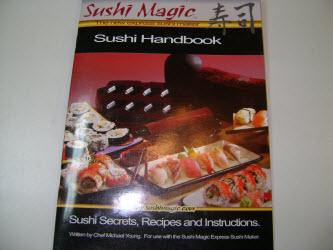 Sushi Magic Sushi Making Kit handbook