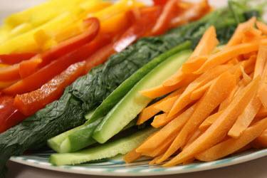 Various sushi vegetables