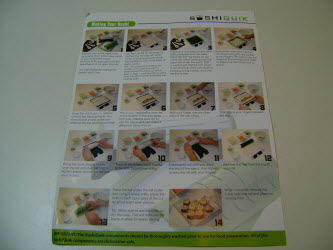 sushiquik instructions