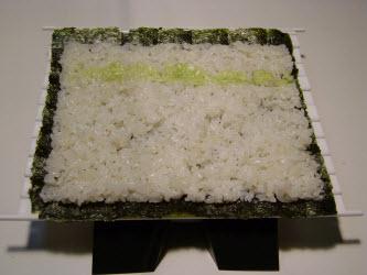 Adding wasabi...