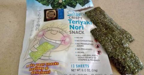 ajisuke-nori (flavored nori)