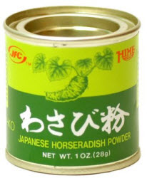 Imitation powdered wasabi