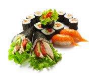 Nigiri and Maki sushi