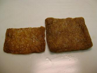 Seasoned fried bean curd