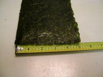 5x7 inch sheet