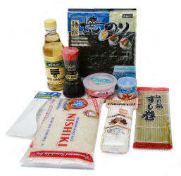 Easy sushi making kit
