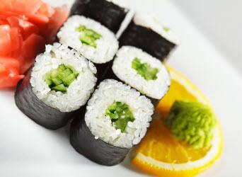Kappamaki (Cucumber Maki Roll)