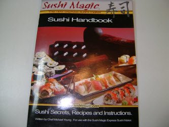 Sushi Magic Sushi Making Kit handbook