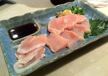 Chicken Sashimi called