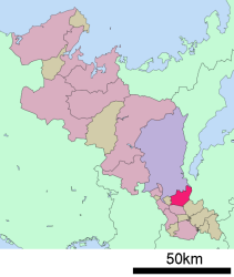 Uji region within the kyoto prefecture