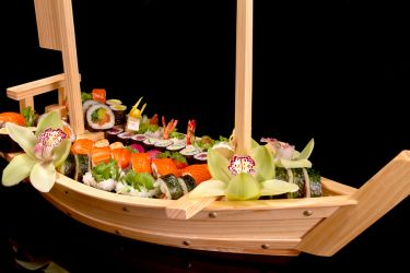 Wooden Sushi boat